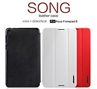 NILLKIN Song Series Flip Leather Cover Hard Plastic Back Cover Case for Fonepad 8