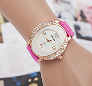 Women's Watches The New Version Of Double Crescent Silicone Watch Of Personality