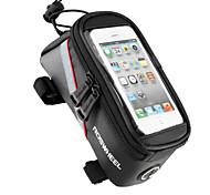 ROSWHEEL® Bike Bag 1.8LBike Frame Bag / Cell Phone Bag Touch Screen / Multifunctional Bicycle Bag PVC / 600D Polyester / Tactel Cycle Bag