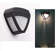 HRY® 2LEDS White Color Light SolarWallLight Solar Lights Light-Control
