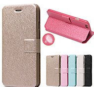 Silk Pattern with Card Bag Full Body Case for iPhone 6(Assorted Color)