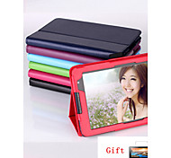 "For 8"" Lenovo A5500 A8-50 Tablet  Protective Leather Stand Case Cover+screen protector+stylus pen (Assorted Colors)"