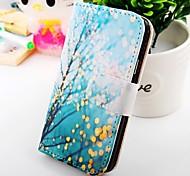 color de la caja de cuero de la PU de los árboles para i9100 Samsung Galaxy S2