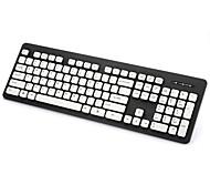 KT-610 de haute qualité tout le corps du clavier lavable - gris / bleu / rose