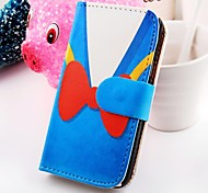 Bowknot Wallet Stand PU Leather Case For Samsung Galaxy S2 SII i9100 Bag Cover With Card