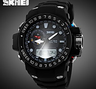 SKMEI® Men's Sporty Watch Analog-Digital Dual Time Zones Slide Rule/Calendar/Chronograph/Alarm