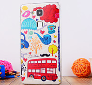 The Bus Design TPU Soft Case Cover for Huawei Mate 7