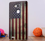 The National Flag Design TPU Soft Case Cover for Huawei Mate 7