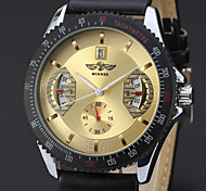 Men's Retro Date Disc Hollow Automatic Mechanical Watches(Assorted Color)