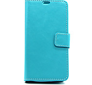 Smooth Luxury Wallet Leather Case Cover For LG L90 (Assorted Color)