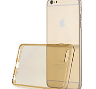 ROCK 0.7mm Ultra-thin Soft TPU Jacket Back Case Cover For Apple iPhone 6 Plus