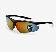 Fashion Cycling/Fitness, Running & Yoga Men 's 100% UV400/Gradient Wrap Sports Glasses(Assorted Color)