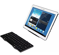 Portable Wireless Bluetooth 3.0 Keyboard W Free Portable Tablet Stand for iOS, Android, Windows Tablets(Assorted Colors)