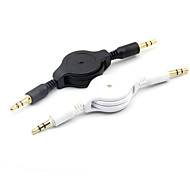 3.5mm Male to Male Retractable Auxiliary Audio Cable