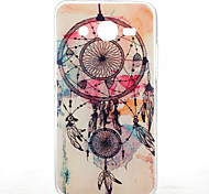 Campanula Pattern Ultrathin TPU Soft Back Cover Case for Samsung Galaxy Core 2 G3558/G3559