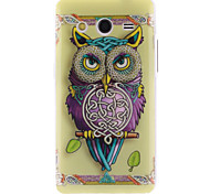 Personality Owls TPU Soft Cover for Samsung Galaxy Core 2 G3556D/G355H