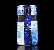 cubierta patrón cruzado fo samsung galaxy grand case 2 g7106