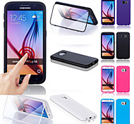 BIG D Touch View TPU & Silicone Flip Case for Samsung Galaxy S6 G9200(Assorted Colors)