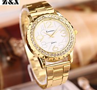 Women's Fashion Diamond Marble Mirror Quartz Analog Steel Belt Bracelet Watch Cool Watches Unique Watches