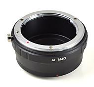 mengs® ай-m4 / 3 байонет кольцо адаптера для Nikon ай объектива Olympus E-P1 E-PL2 или Panasonic G1 G2 G10 gf1- m4 / 3 камеры
