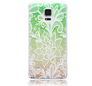Painted TPU Phone Case for Samsung Note 4
