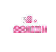 - Zehe - 3D Nails Nagelaufkleber 1 Stück - 11*7 cm