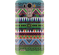 National Wind Patterns TPU Soft Case for LG G3