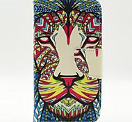 Löwe Muster der Inneren gemalt Karten für Samsung-Galaxie s5