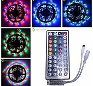 5M RGB Strip Light  30W 300-LED SMD 3528 + 44 key IR Key + DC12V 12A