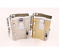 Creative Multifunction Light Metal Lighters Silver Gold