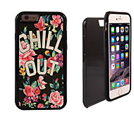CHILL OUT Design 2 in 1 Hybrid Armor Full-Body Dual Layer Shock-Protector Slim Case for iPhone 6