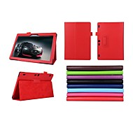 10.1 Inch Two Folding Pattern Lichee Case for lenovo Tab 2 A10-70(Assorted Colors)