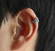 European Punk Style Fashion Skeleton Hand Ear Clip
