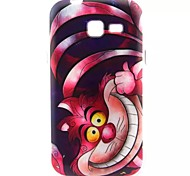 Big Face Cat Pattern TPU Soft Cover  for Samsung Galaxy Trend Lite7390/7392