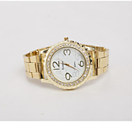 Women's Watches Europe And the United States - Alloy with Outer Ring Gear Steel Watch