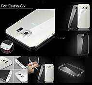 Big D 0.6mm arrière TPU couverture souple transparent pour (couleurs assorties) Samsung Galaxy S