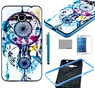 COCO FUN® Wind-Bell Pattern Soft TPU Case with Screen Protector and Stylus for Samsung GALAXY Grand Prime G530