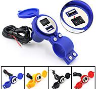 12v impermeável para 5v 1.5a motocicleta carregador do GPS do telefone usb adaptador de energia agradável