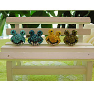 Special Design Frog Anti-dust Earphone Jack for iPhone/iPad and Others(Random Color)