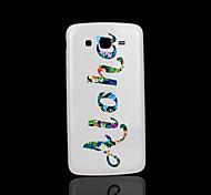 frase cubierta patrón fo samsung galaxy grand case 2 g7106