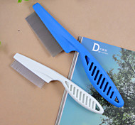 Handle The Flea Comb for Pets Dogs Assorted colors