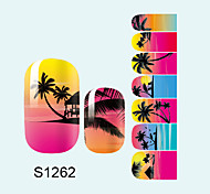 14PCS Nail Art Stickers A Series S1262