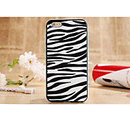 2 in1 Hybrid High Impact Hard  Zebra Striped Pattern Case Cover for  iPhone 6plus