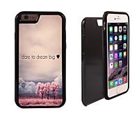 oser rêver grand design 2 en 1 armure hybride complet du corps à double couche choc protecteur mince affaire pour iPhone6 en plus