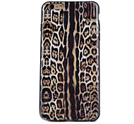 Leopard Pattern Painted Decal New TPU Phone Case for iPhone 6/6S