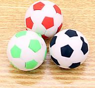 Set of 3 Sports Shape Erasers Soccer Football Eraser Rubber Stationery (Random Color)