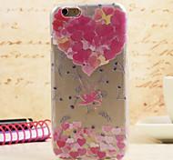 Spider® magie chérie fleur de couleur de peinture ultra-mince affaire protetive avec protecteur d'écran pour iPhone 6 plus