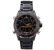 2015 neue wasserdichte Herren Markenuhr mit elektronischen Funktionen Uhr-Männer Quarz-Uhren
