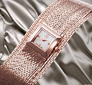 NEW Luxury Rome Womens Ladys Wrist Quartz Watch Smart Brass Chain Band Bracelet Analogue Dressed