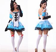 alice sexy cameriera della regina delle donne abbigliamento halloween costume